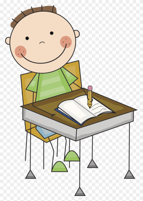 small resolution of 830x1199 girl and boy writing clipart clipart office 2013