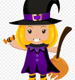 halloween little witch png clip art witch clipart free [ 840 x 1204 Pixel ]