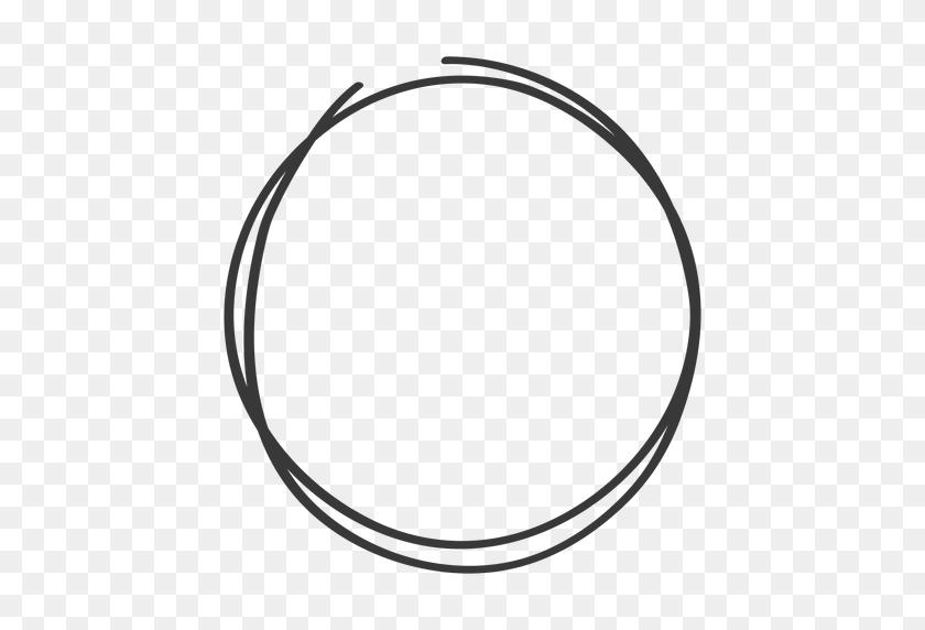 cartoon circle hand drawn
