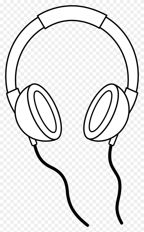 small resolution of headphone images clip art clipart collection heaven clipart black and white