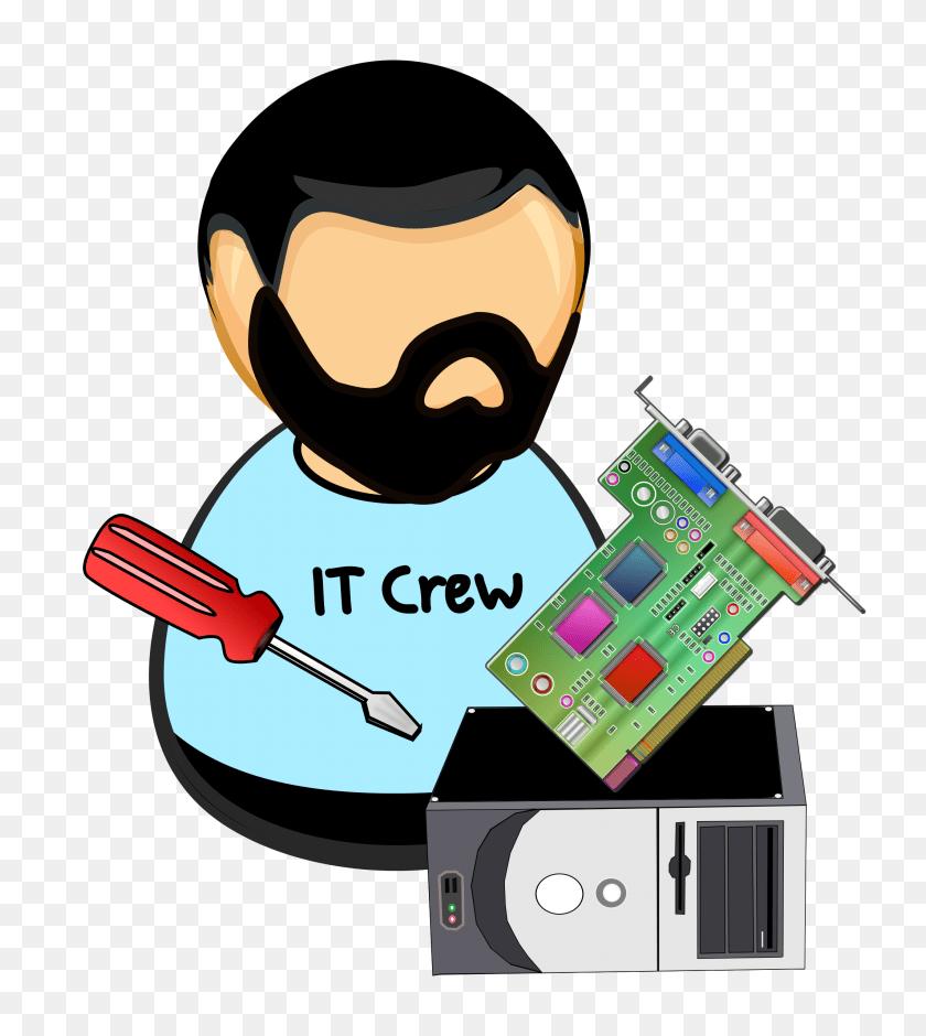 medium resolution of it hardware technician vector clipart image technician clipart