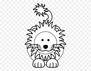 Lion Black And White Outline Lion Clipart Drawing Free Design Lion King Clipart Stunning free transparent png clipart images free download