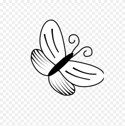 Octopus Clip Art Black And White Simple Butterfly Clipart Stunning free transparent png clipart images free download