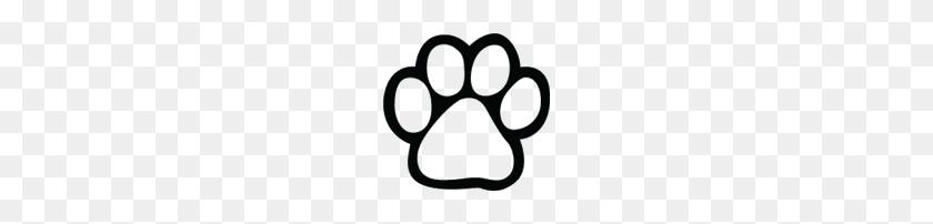 dog paw print cat