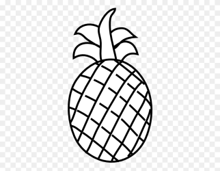 Pineapple Outline Clip Art Pinapple PNG Stunning free transparent png clipart images free download
