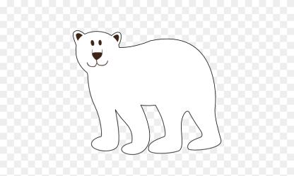 bear polar clip clipart christmas face