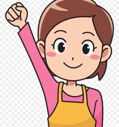 publicdomainq woman homemaker clip art woman cooking clipart [ 840 x 1038 Pixel ]