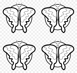 Quiet Clipart Black And White Simple Butterfly Clipart Stunning free transparent png clipart images free download