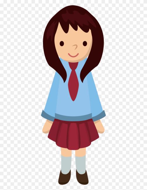 small resolution of 371x1024 school children cute cliparts girls school cute school clipart