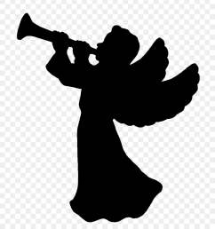 silhouette of angel clipart cupid clipart [ 840 x 945 Pixel ]