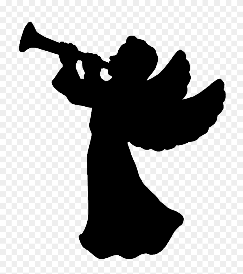 medium resolution of silhouette of angel clipart cupid clipart