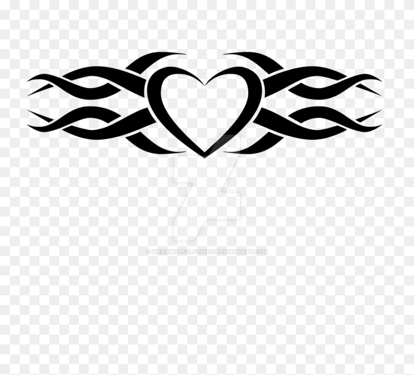 Heart Tattoo Designs Png