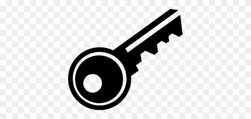Key Clipart Morse Code - House Key Clipart