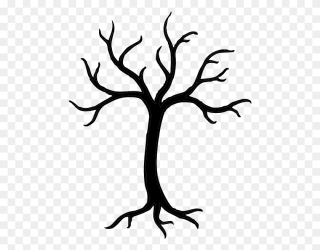 Tree Black And White Tree Clipart Black And White Stem Clipart Black And White Stunning free transparent png clipart images free download