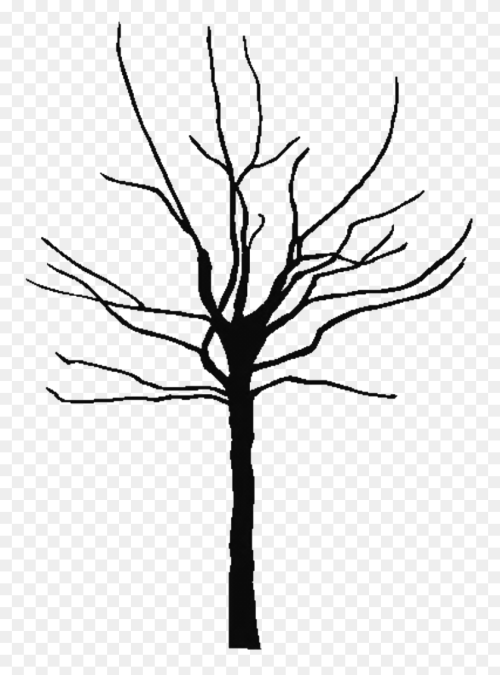 small resolution of tree outline nature oak leaf clipart black and white