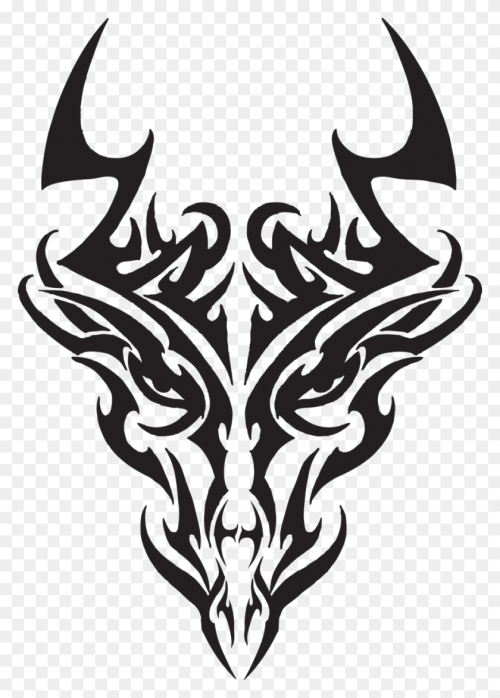 small resolution of 900x1285 tribal dragon head tattoos dragon head tr masquerade ideas dragon tattoo png