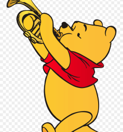 winnie the pooh playing trumpet clip art web clipart american football player clipart [ 840 x 1239 Pixel ]