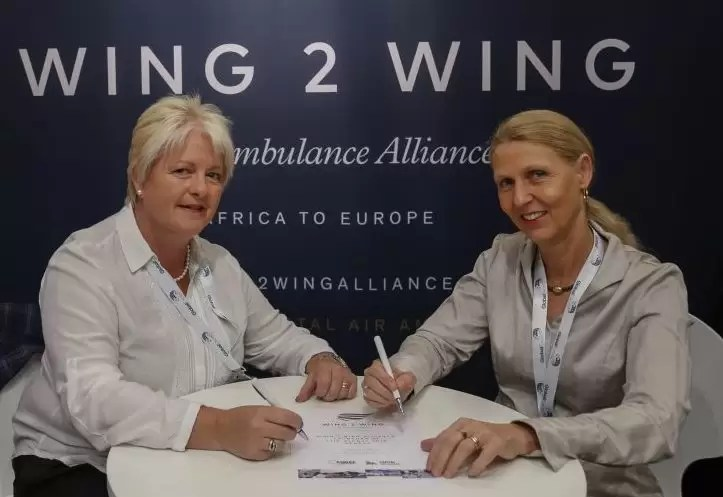 Wing-to-wing air ambulance alliance launched at ITIC Geneva 2018