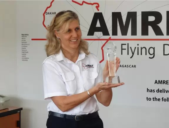 AMREF Flying Doctors Award Winner - CEO Bettina Vadera
