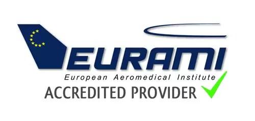 Accreditation from the European Aeromedical Institute – EURAMI.