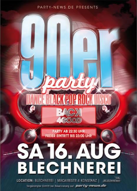 Back for Good! Die 90er Party!!! Sa. 16.8.14 – Blechnerei – Konstanz Eintritt frei b ...