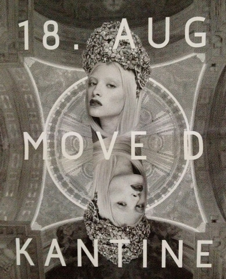 Relaxed Clubbing pres. Move D 19.8.14 – Kantine – Konstanz