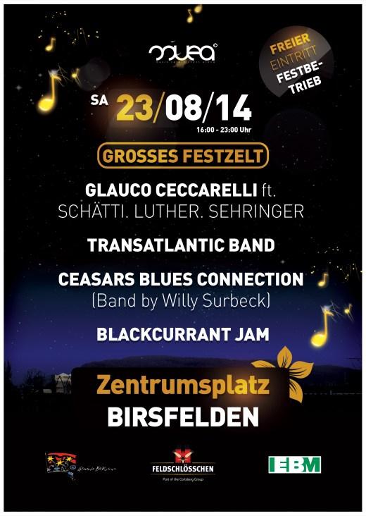 Blues`n`Jazz Birsfelden – Sa. 23.8.14