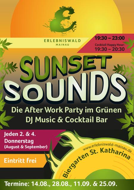 Sunset Sounds – Do 11.09.2014 – Biergarten St. Katharina – Mainau – Konstanz