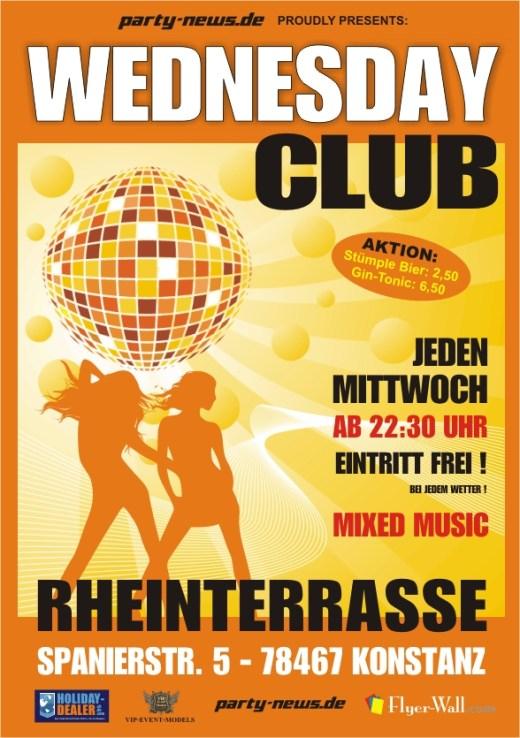 Wednesday Club – Mi.1.10.14 – Rheinterrasse – Konstanz