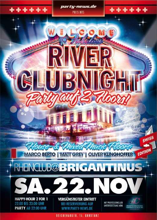 River Club Night – Sa.22.11.14 – Brigantinus – Konstanz