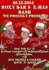 BIG X-MAS BASH ROXY BAR Kreuzlingen