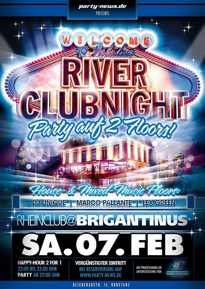 River Club Night – Sa.7.2.15 – Brigantinus – Konstanz