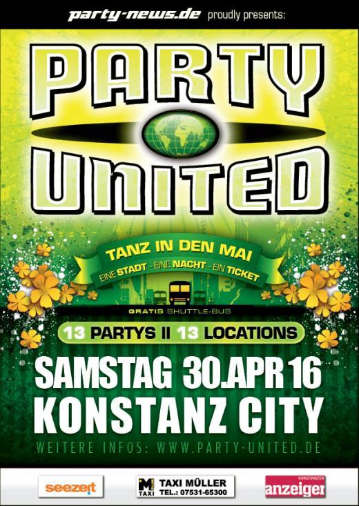 PARTY UNITED – Tanz in den Mai !!