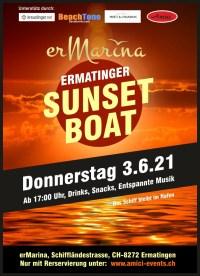 Ermatinger Sunset Boat