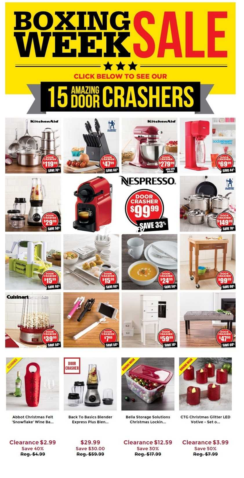 kitchen stuff on sale pan set plus boxing week december 26 to january 3 canada comments