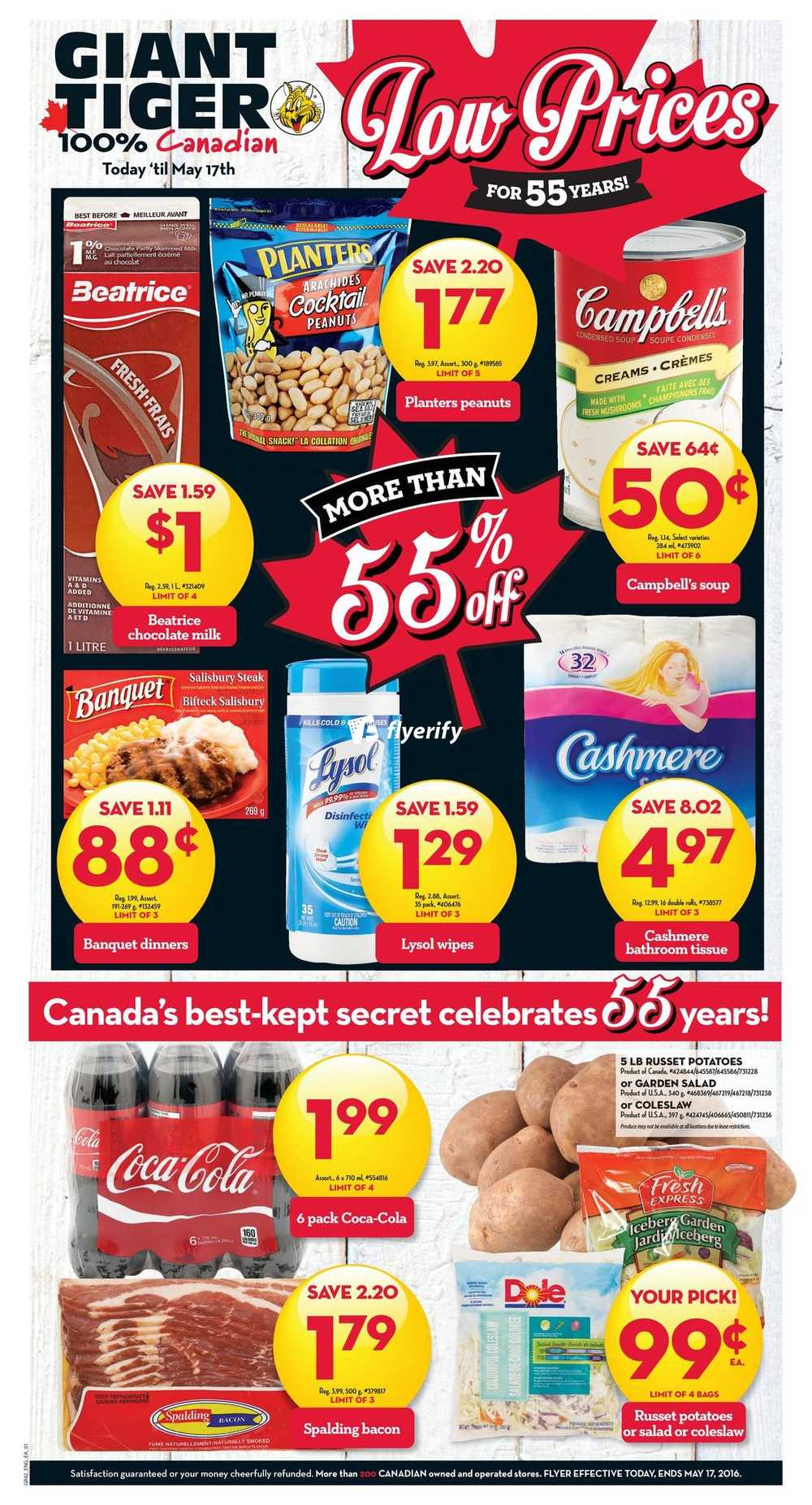 Giant Tiger ON Flyer May 11 to 17 Canada