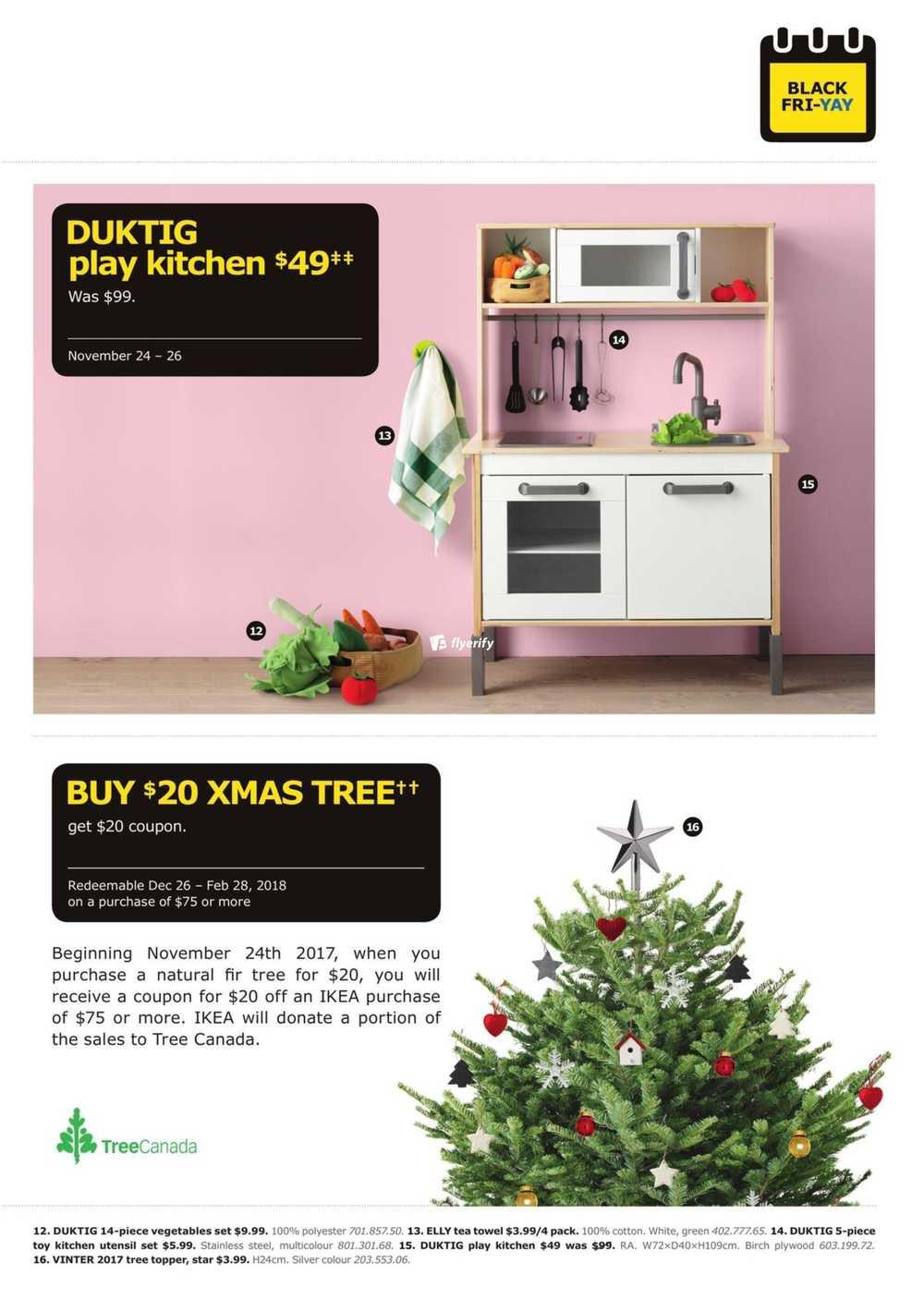Ikea Black Friday Flyer November 24 To 26 2017 Canada