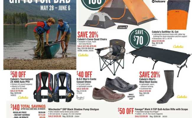 Cabela S Gifts For Dad Flyer May 28 To June 6 Canada