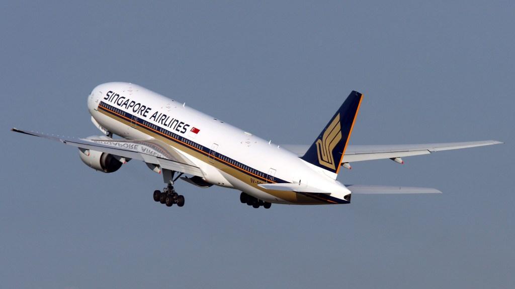 新加坡航空 波音777-200