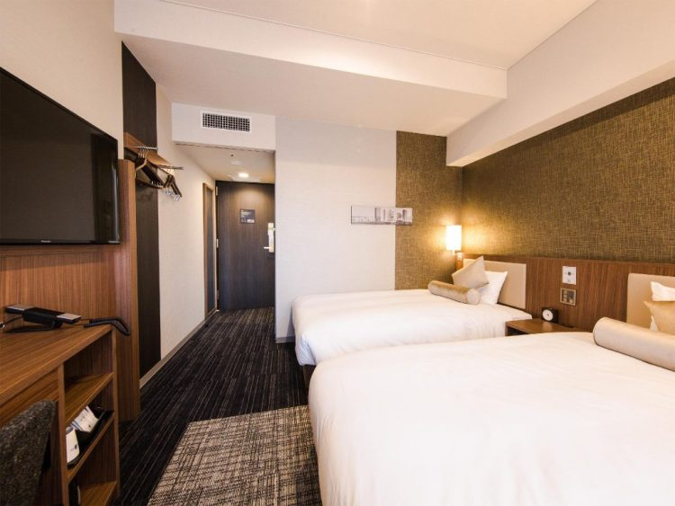 名古屋站前 UNIZO 酒店 雙床房
