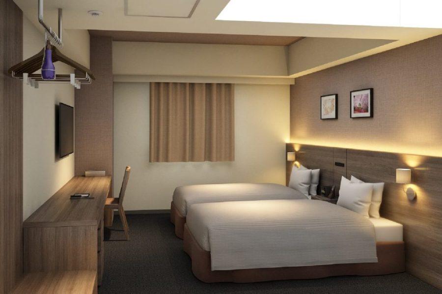 大阪北濱最佳西方Plus Fino酒店 雙床房