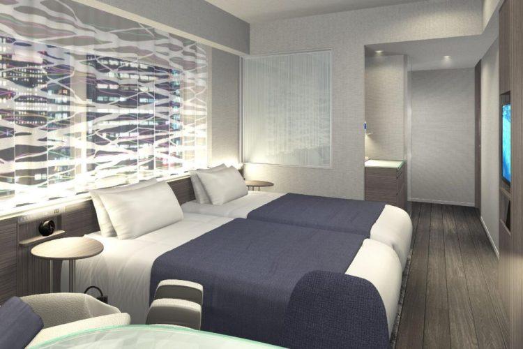 東京京橋雷姆酒店 雙床房