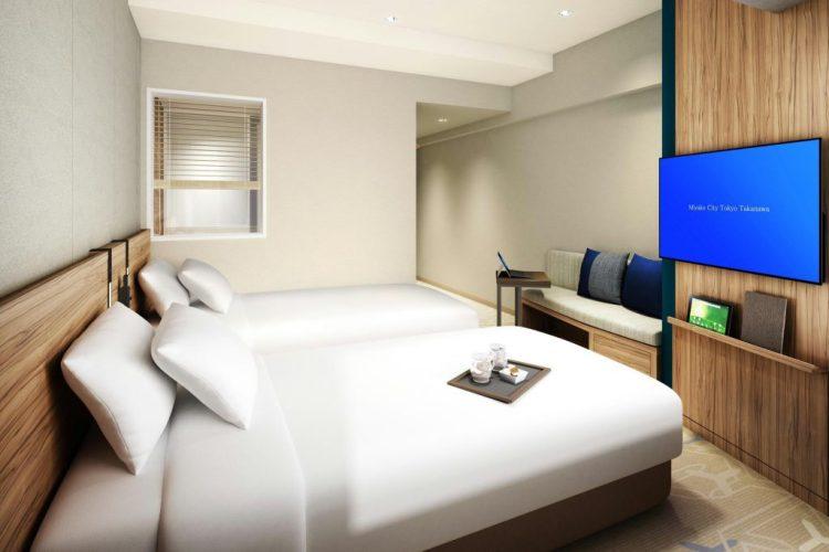 東京高輪都城市酒店 雙床房