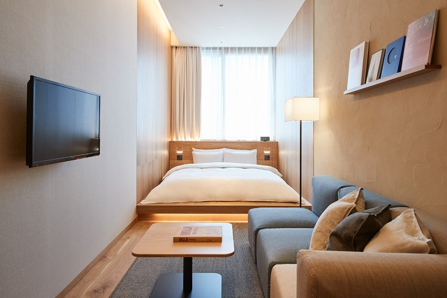 MUJI HOTEL GINZA 雙人房 (Type C)