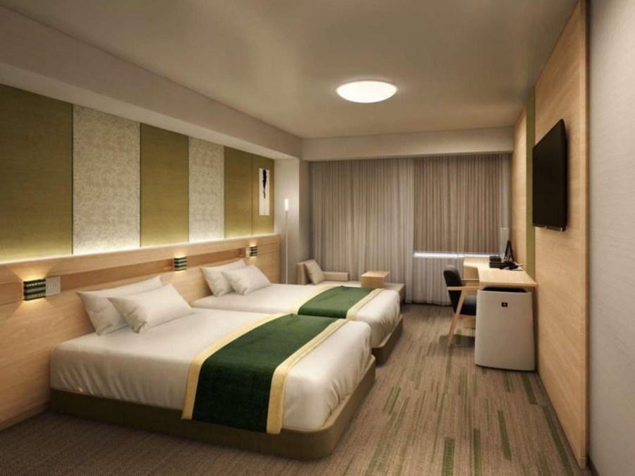 天神西通里士滿酒店 雙床房