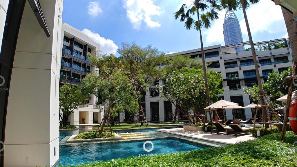 曼谷暹羅凱賓斯基酒店 園景