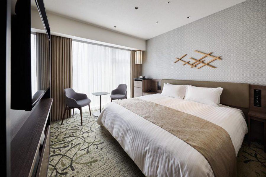 格蘭比亞京都比偲奇酒店 雙人房