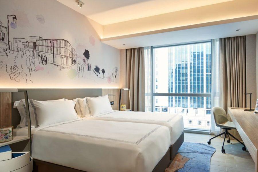 中國城凱貝麗酒店式服務公寓 雙床房