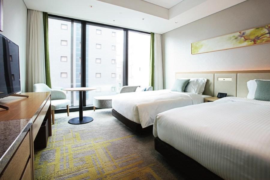 博多都酒店 雙床房