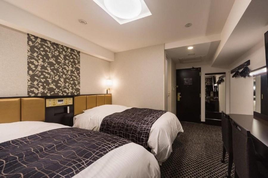 橫濱灣塔 APA 酒店及度假村 雙床房
